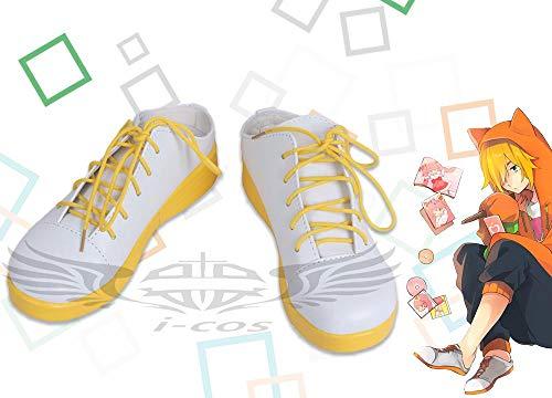 【i-cos】#COMPASS #コンパス 戦闘摂理解析システム マルコス'55 風 コスプレ靴 コスプレブーツ 安い 通販 (25.5cm, 女性)