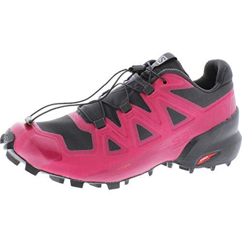 SALOMON Women's Speedcross 5 Trail Running Shoes Red Size: 9 M US