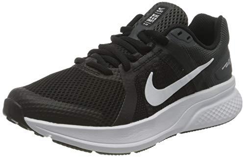 Nike Damen Run Swift 2 Running Shoe, Black/White-Dark Smoke Grey, 39 EU