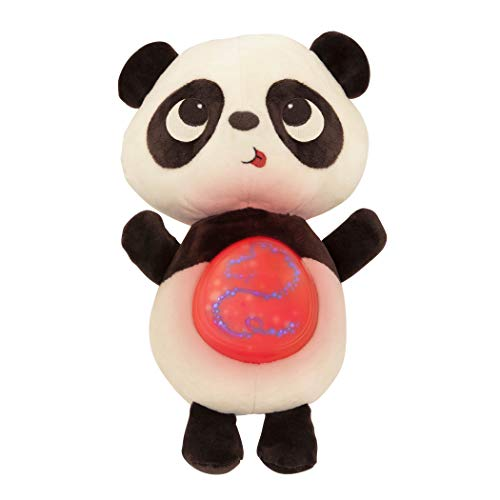 B. Toys – Twinkle Tummies Panda– Soothing Plush Animal for Infants with Glowing Tummy & Six Lullabies JungleDealsBlog.com