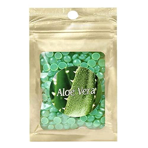 Épilation Cire Perles de cire Naturel Soft Heaven Heavan Body Cheveux Tépilation Aloefor Hommes et femmes