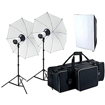 『ヘアサロン撮影キット』モノブロックストロボ2灯照明機材セット hiar-TB-250