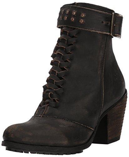 HARLEY-DAVIDSON FOOTWEAR Women's Calkins Fashion Boot, Grey, 08.5 Medium US