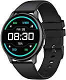 YAMAY Smartwatch Donna Uomo Orologio Fitness Cardiofrequenzimetro da Polso Fitness Tracker Contapassi Conta Calorie Impermeabile IP68 Cronometro Centinaia di Quadranti per Android iOS Smartphone