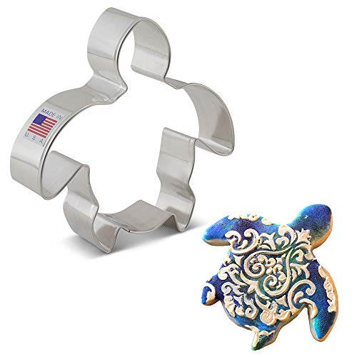 Cookie Cutters in Sea Turtle Shapes