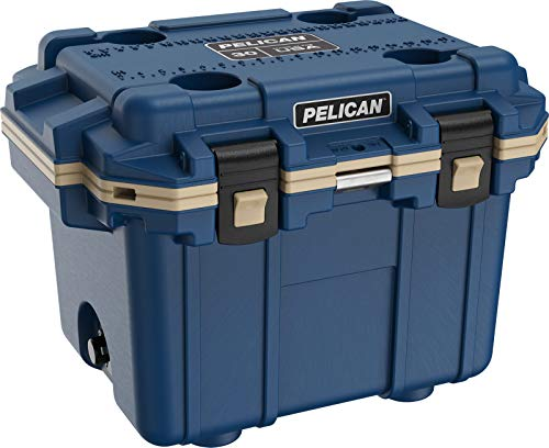 Pelican Elite 30 QT Cooler (Pacific Blue/Coyote)