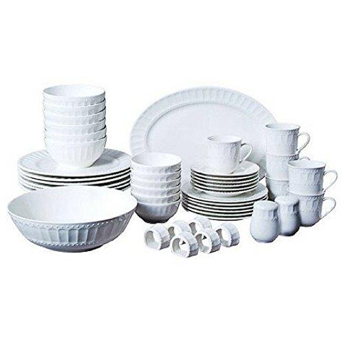 Gibson Home Regalia 46-Piece Dinnerware and Serveware Set