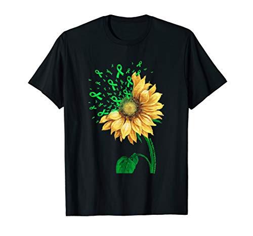NON-HODGKIN'S LYMPHOMA AWARENESS Sunflower Green Ribbon T-Shirt