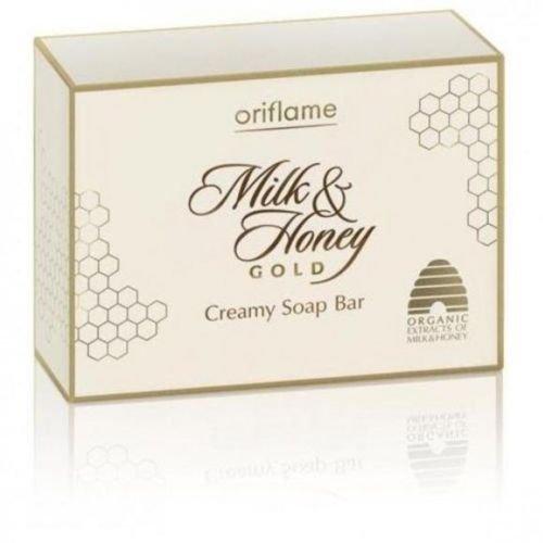 Oriflame Milk & Honey Gold Lot de 2 barres de savon crémeux 100 g