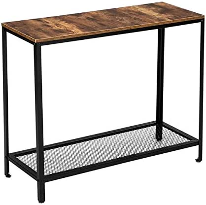 BRLUCKY US HODELY Modern Industrial 40-Inch Floors 2 Wood Cheap mail order sales Grain OFFer