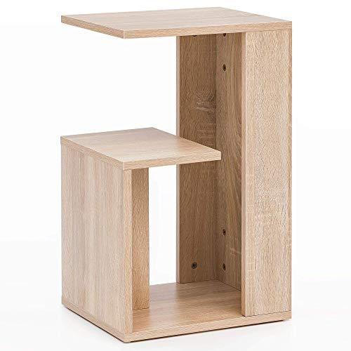 Wohnling WL5.697 bijzettafel, hout, Sonoma, 35x29,5x60 cm