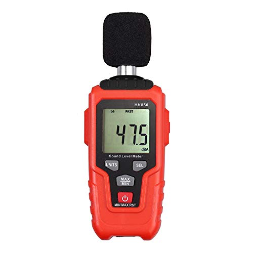 CAMWAY Digital Noise Meter Sound Level Meter, Decibel Meter Volume...