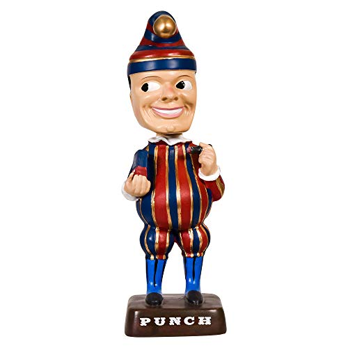 Mr. Punch Punchy The Cigar Bobblehead - Red