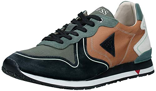 Guess Heren Sneaker Runner New Glorym Charm Cognac FM5NGLFAB12
