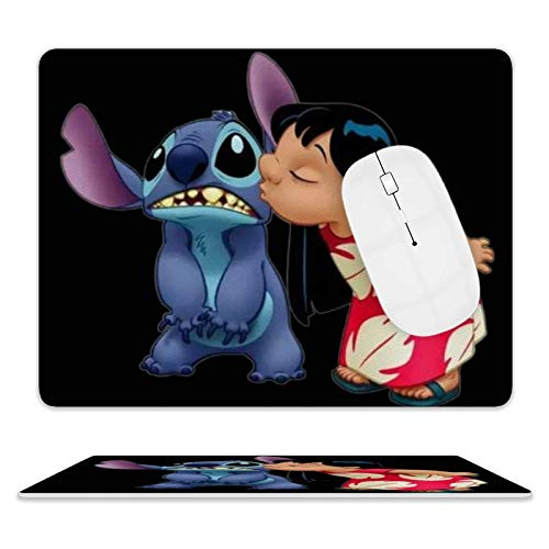 Heartbeat Gaming, Office Desk Accessories, Laptops, and Other Edge Stitched Mouse Pads, 3D Non-Slip, Waterproof and Durable Rectangular Mouse Pads