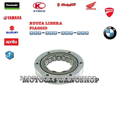 Nouvelle roue libre démarreur Piaggio 300 Beverly Tourer i.e. apos09-apos10