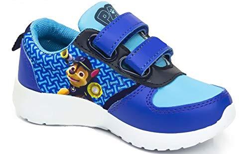 Jungen Sneaker Kinderschuhe Turnschuhe Dunkelblau, kompatibel mit Paw Patrol Gr.30