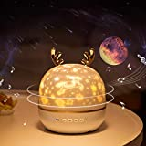 Star Projector, Birthday Christmas Gifts for 6 7 8 9 10 Year Old Girls, Sky Lite Starlight Projector with Music Bluetooth Timer, Star Lights Toys for 6-10 Year Old Girls Boys - Remote (6 Set Of Films)