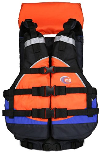 Best Deals! MTI - Explorer V (Blue/Orange, One Size Fits All) Rafting Life Jacket