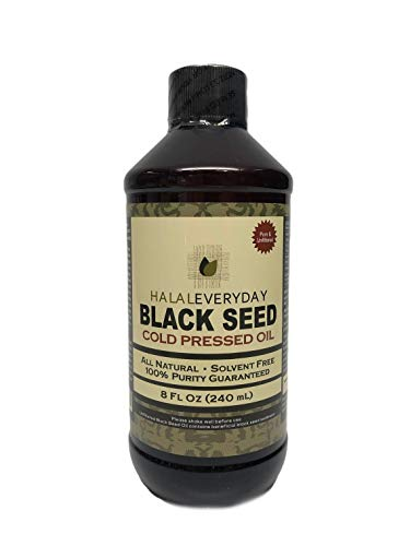 Pure Black Seed Oil - 32oz - 2-16oz Bottles of 100% Pure and Cold Pressed Black Seed - Non-GMO and Vegan - Nigella Sativa -100% Hexane Free - Halal Certified - Special Food Grade Plastic Bottle