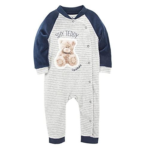 Bebé recién nacido mamelucos Pjiamas bebé mono terciopelo cálido mono bebé niños mono ropa niño, Peluche tímido, 6 mes