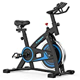 Best Spinning Bikes - De.Pommeyeux Exercise Bike, Indoor Cycling Bike Stationary Review