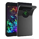 Cadorabo Hülle für Razer Phone 2 in SCHWARZ – Handyhülle aus flexiblem TPU Silikon – Silikonhülle Schutzhülle Ultra Slim Soft Back Cover Case Bumper