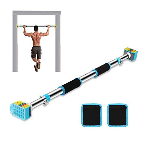 Ulalov Pull Up Bar Doorway, Strength Training Pull Up Bar, Pull Up Bar Chin Up bar Doorway for Home Workout Fitness Door Pull Up Bar Tight Space