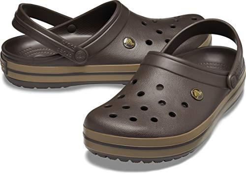 Crocs Unisex-Erwachsene Crocband Clogs, Braun - 10