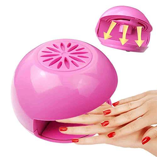 QXXNB Nageltrockner Mini Trockner Tragbare Nagellack Gebläse Hand- Und Fingernageltrockner für den privaten und professionellen Gebrauch