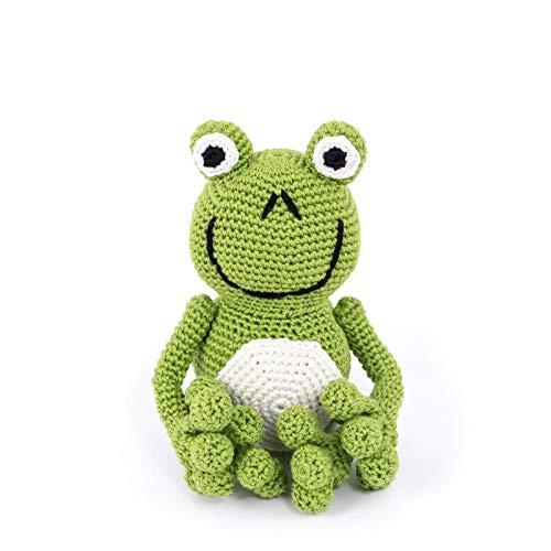 Froggy. Jouet au crochet