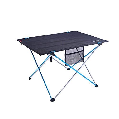 Kaikai Mesa de Camping Plegable, Tela de aleación de aleación de aleación de Aluminio al Aire...