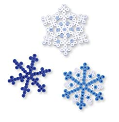 Perler Bead Kit, Pretty Snowflakes