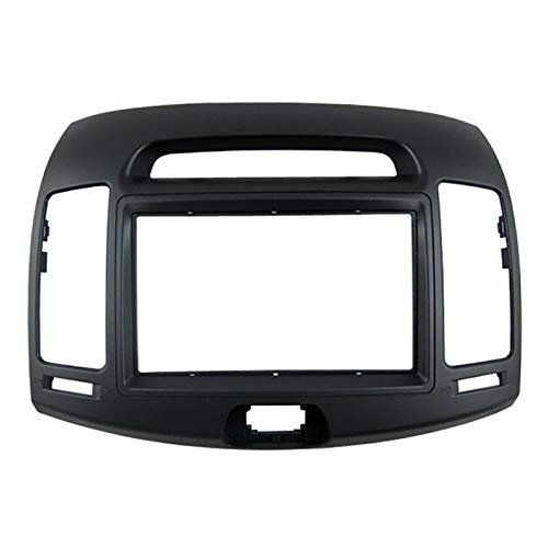 CLEIO Kit de marco de panel de fascia de pantalla grande estéreo de 9 pulgadas para Hyundai Elantra 2006-10 Avante 2006-10
