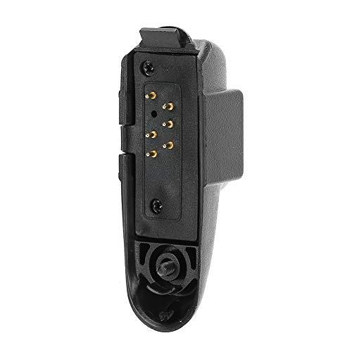 Adaptador de Auriculares Walkie Talkie, convertidor de Audio de Repuesto para Baofeng BF ‑ 9700 BF ‑ A58 BF ‑ UV9R UV...