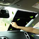 Marvellous Car Windshield Sun Shade,Accordion Style Retractable Sun Shade,Front Window UV Heat Insulation Universal