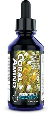 Brightwell Aquatics CoralAmino - Amino Acid Complex for Coral Coloration & Growth, 30-ML (COA30)