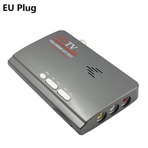 SODIAL 2018 Nuovo digitale HDMI DVB-T/T2 dvbt2 TV VGA Convertitore di ricevitori di moda