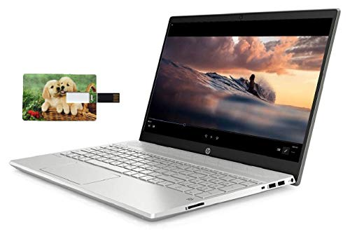 HP Pavilion 15 Business Laptop Computer, 10th Gen Intel Quad Core i5-1035G1, 15.6' HD IPS Touchscreen, 16GB RAM, 512GB NVMe M.2 SSD, Win 10 Pro, Wi-Fi 6, Bluetooth 5, Webcam, B&O Audio, USB-C, HDMI