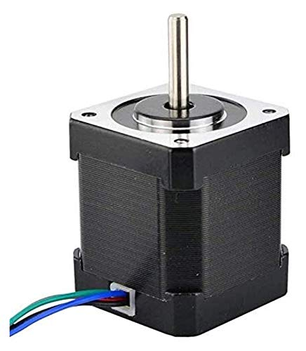 ZKDY Speed Reduction Motor 17 Stepper Motor 48Mm Nema17 Motor 42Bygh 2A 4-Lead (17Hs19-2004S1) Motor 1M Cable for 3D Printer CNC Xyz Motor Geared motor (Color : Default)