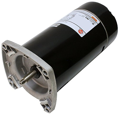 1 hp 3450 RPM 48Y Frame Square Flange 115/230V Pool Motor US Electric Motor # ASQ125