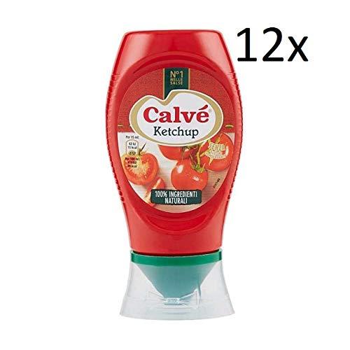12x Calvé Ketchup Squeeze FritesSoße Tafelsauce natürliche Inhaltsstoffe 250ml