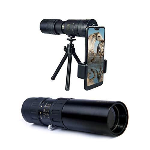 laoonl 4k 10-30x30mm teleobjetivo zoom alta lista prismáticos, convenientes para conciertos de viaje en la playa