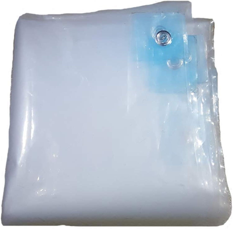 Outdoor Rainy Season Transparent Waterproof Tarpaulin Multifunctional Predective Tarpaulin (Size   3  11m)