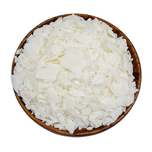 CoolCrafts Cera di Soia Bianca Naturale Cera di Soia Fiocchi per Candele - 2lb (907g)