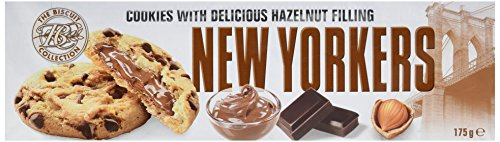 The Biscuit Collection Cookies au chocolat et noisettes - New Yorkers - Le paquet de 175 g