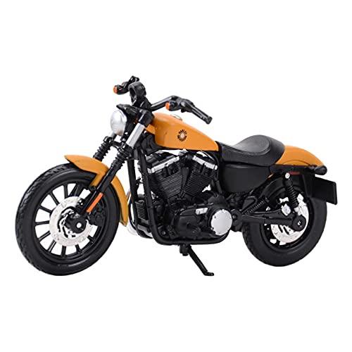 Boutique para HA┐RLEY-Davidson 2014  1: 18 Sportster Iron 883 Motoring Motoring Motory Collection Gift Memorial Toy Car (Color : Oro)