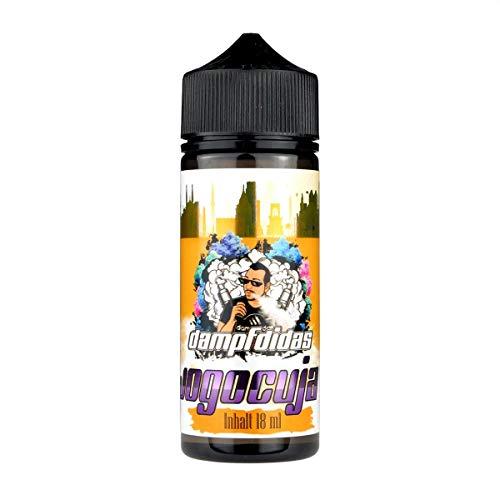 Dampfdidas Aromakonzentrat Jogocuja, Shake-and-Vape zum Mischen mit Basisliquid für e-Liquid, 0.0 mg Nikotin, 18 ml