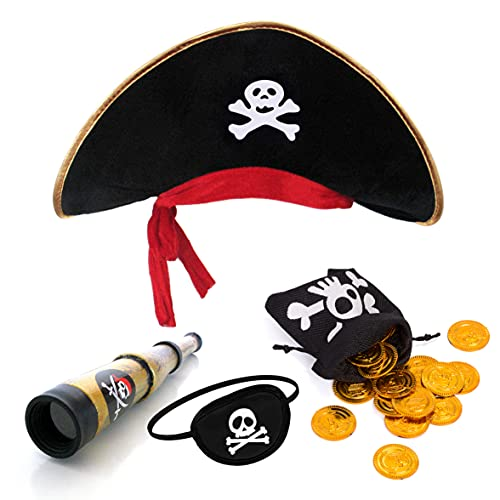 papapanda Sombrero de Pirata con Parche...