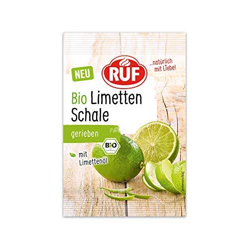 RUF Bio Limettenschale schonend gefriergetrocknet mit Limettenöl, 5 g